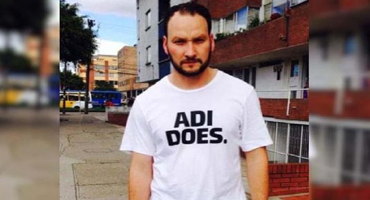 Javier Ordoñez falleció a los 46 años en la localidad de Engativá, en Bogotá. Foto: Twitter