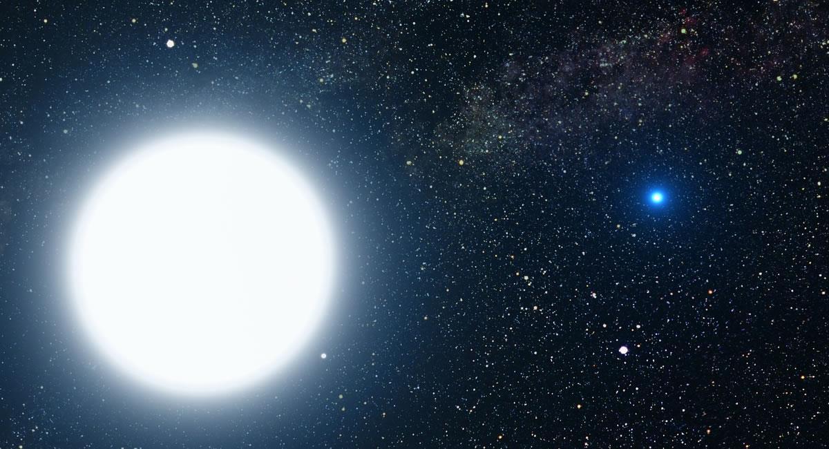Una estrella 'enana' tiende a destruir todo a su alrededor, pero esta no. Foto: Pixabay