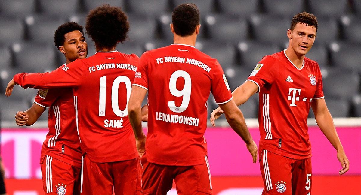 Bayern Munich quiere conseguir su noveno título consecutivo de la Bundesliga. Foto: EFE