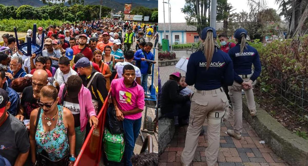 Se espera que en los próximos meses lleguen a Colombia más de 200.000 ciudadanos venezolanos. Foto: Facebook Ecuavisa / Migración Colombia