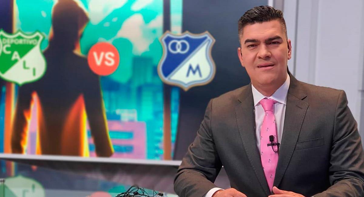 Eduardo Luis, comentarista deportivo en Win Sports. Foto: Instagram @eduardoluisfut