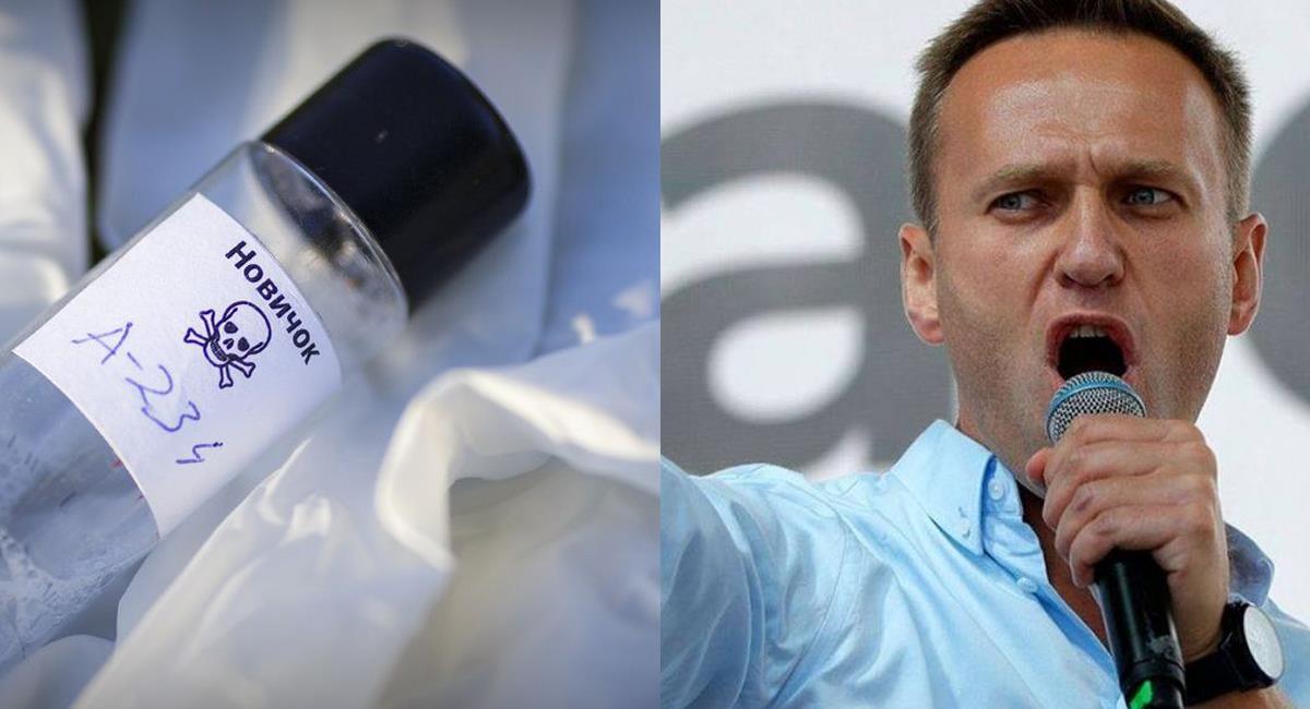 Alexei Navalny, principal opositor de Vladimir Putin fue envenenado con Novichok en el mes de agosto. Foto: Facebook Notife