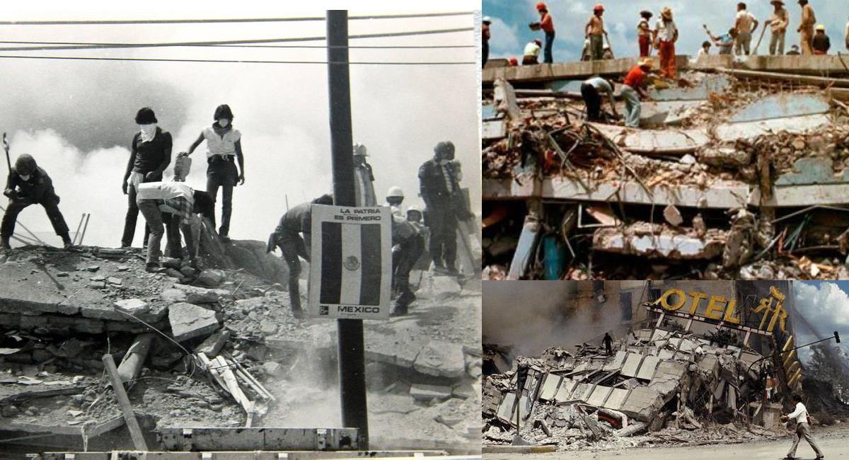 La Ciudad de México vivió hace 35 años el peor desastre natural de su historia. Foto: Facebook Notimex