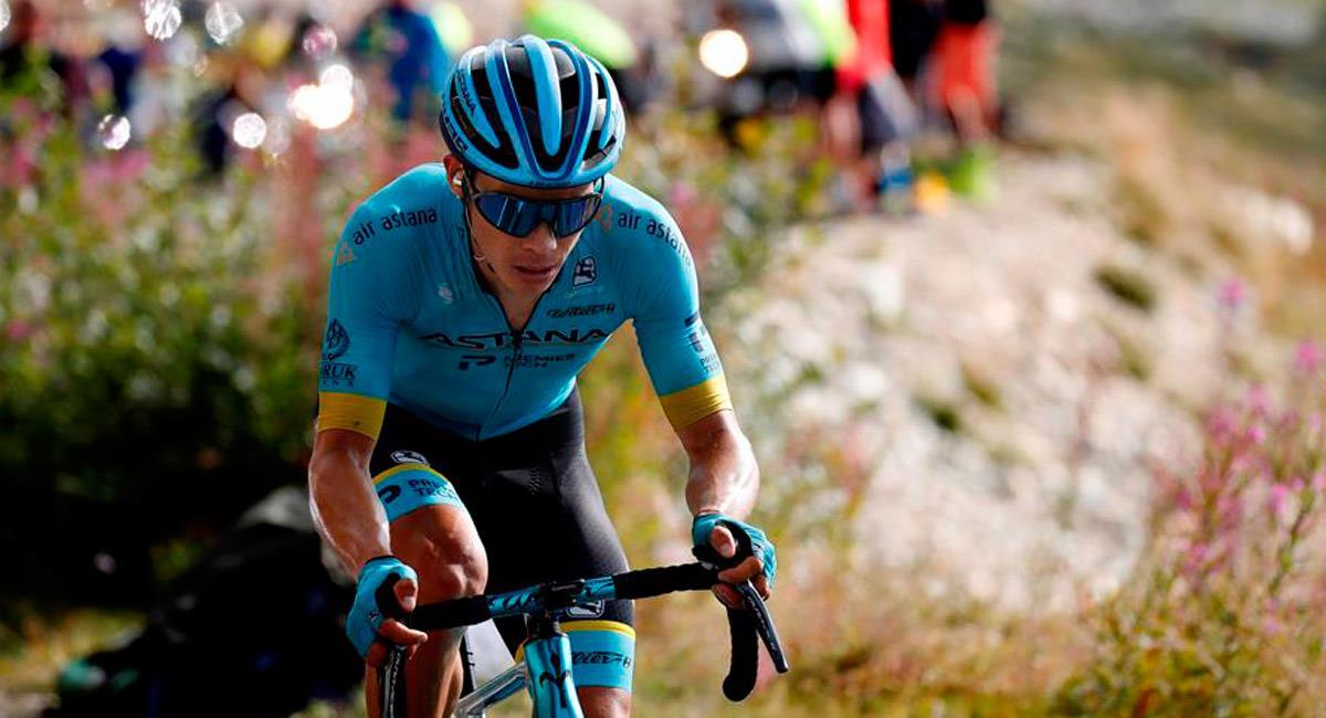 Miguel Ángel López en el Tour de Francia 2020. Foto: EFE