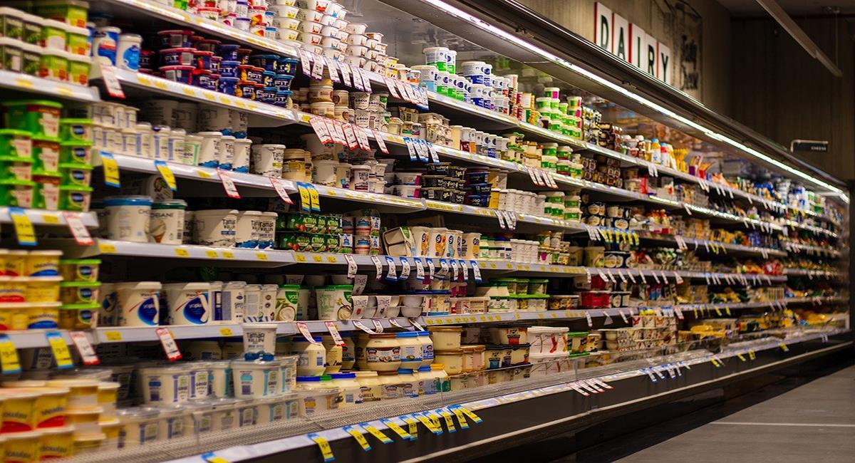 Los yogures y productos lácteos están envasados en plástico en la gran mayoría de los casos. Foto: Pixabay