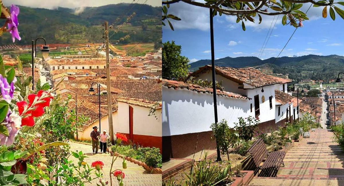 Zapatoca, Santander es una población ubicada cerca de la capital Bucaramanga. Foto: Facebook Weekend Santander