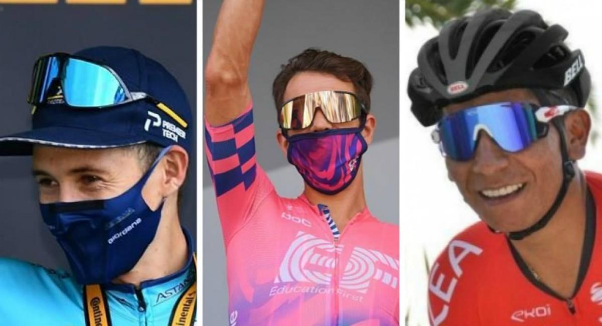Así quedaron los colombianos en el Tour de Francia 2020. Foto: EFE