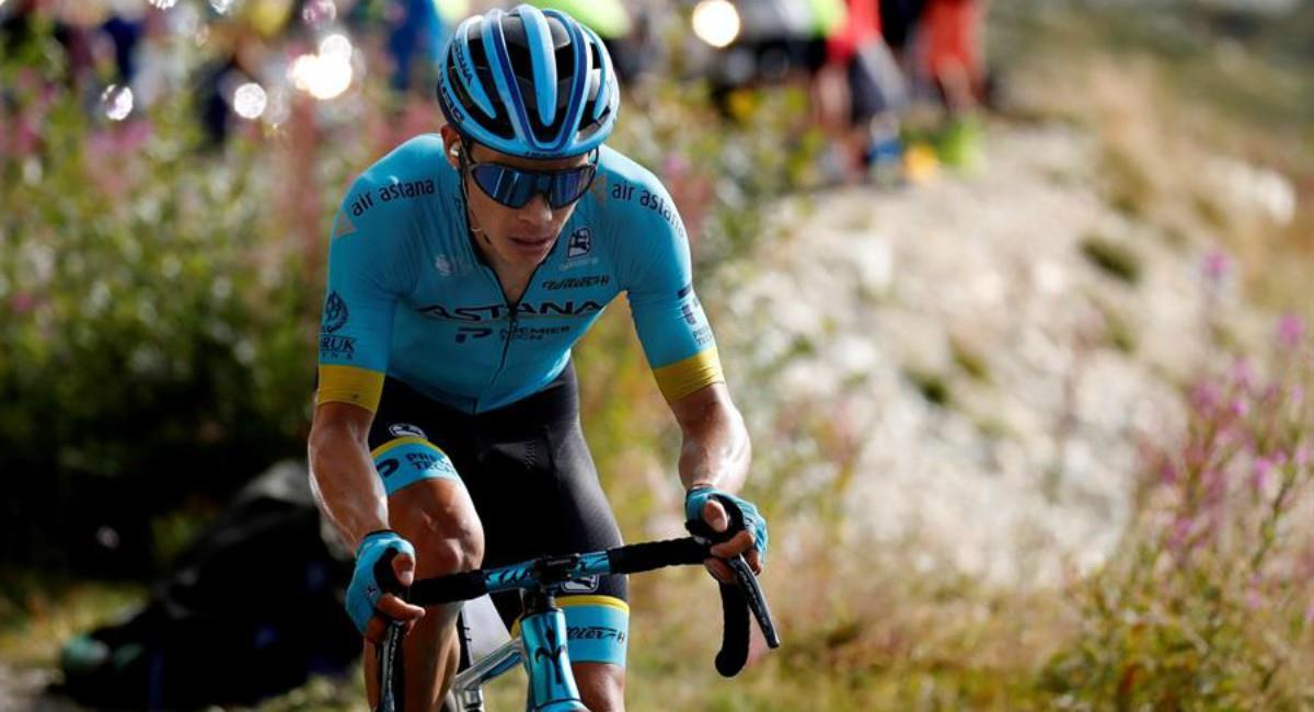 El buen premio que se lleva Miguel Ángel López en el Tour de Francia. Foto: EFE