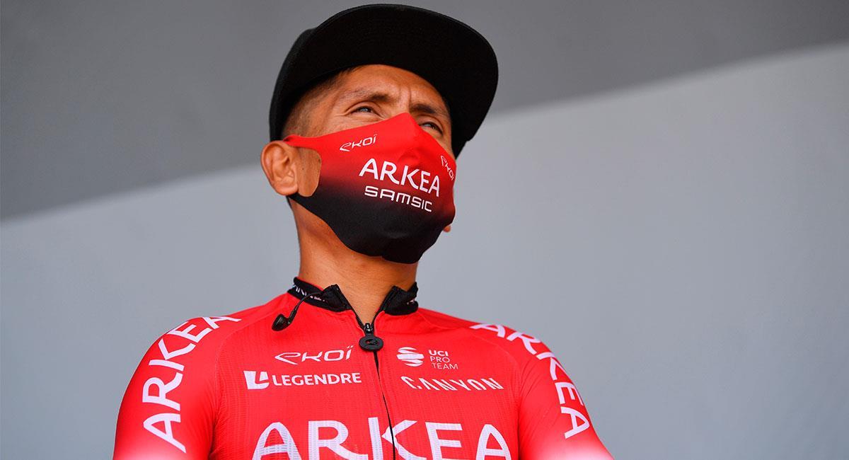 Nairo Quintana finalizó en el puesto 17 del Tour de Francia 2020. Foto: EFE