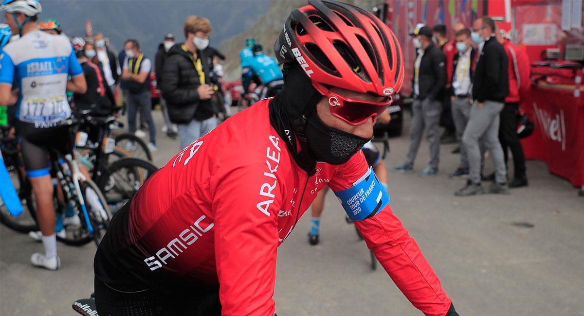 Nairo Quintana no tuvo un buen Tour de Francia debido a las caídas que tuvo. Foto: EFE