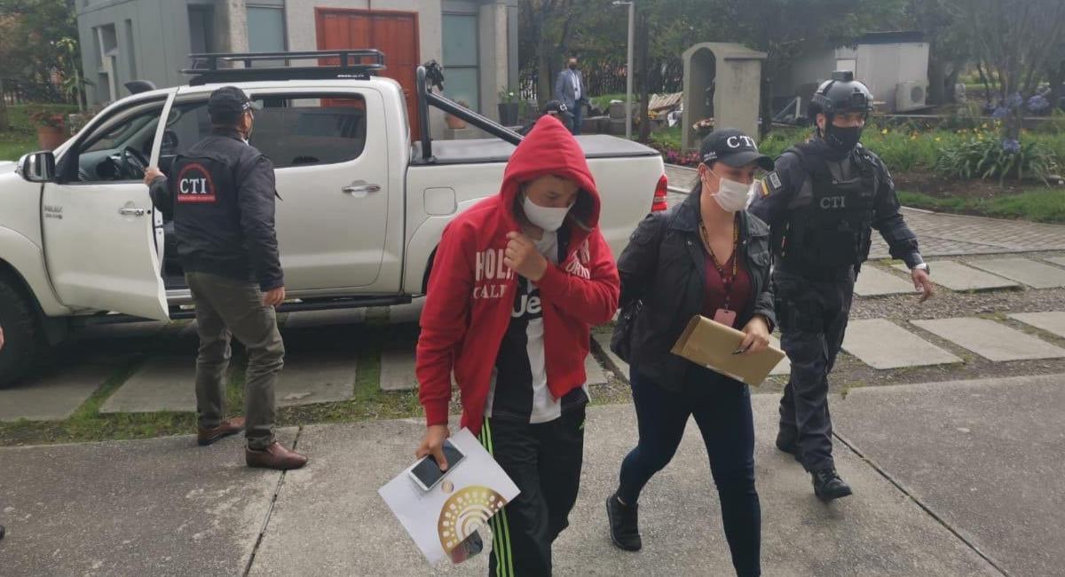 La Fiscalía no permitió detención domiciliaria. Foto: Twitter @FiscaliaCol