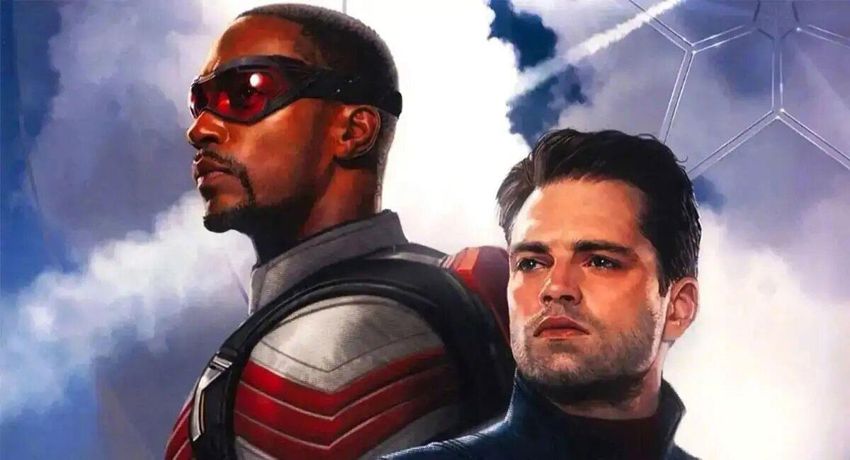 """Falcon and the Winter Soldier""  se estrenará a través de Disney+. Foto: Twitter @QuidVacuo_"