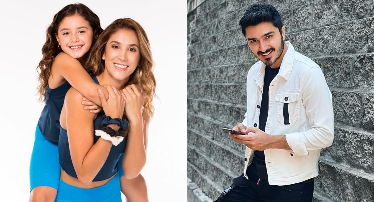 Daniela Ospina había publicado fotos junto a su hija y aparte con su pareja. Foto: Instagram