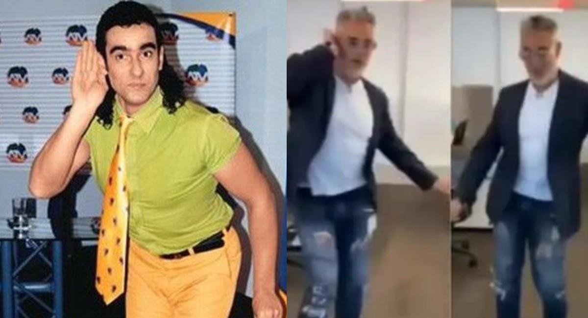 El actor Miguel Varoni sorprendió a sus seguidores bailando 'El pirulino'. Foto: Instagram