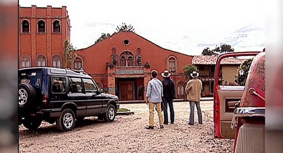 Hacienda Elizondo de 'Pasión de Gavilanes'. Foto: Youtube