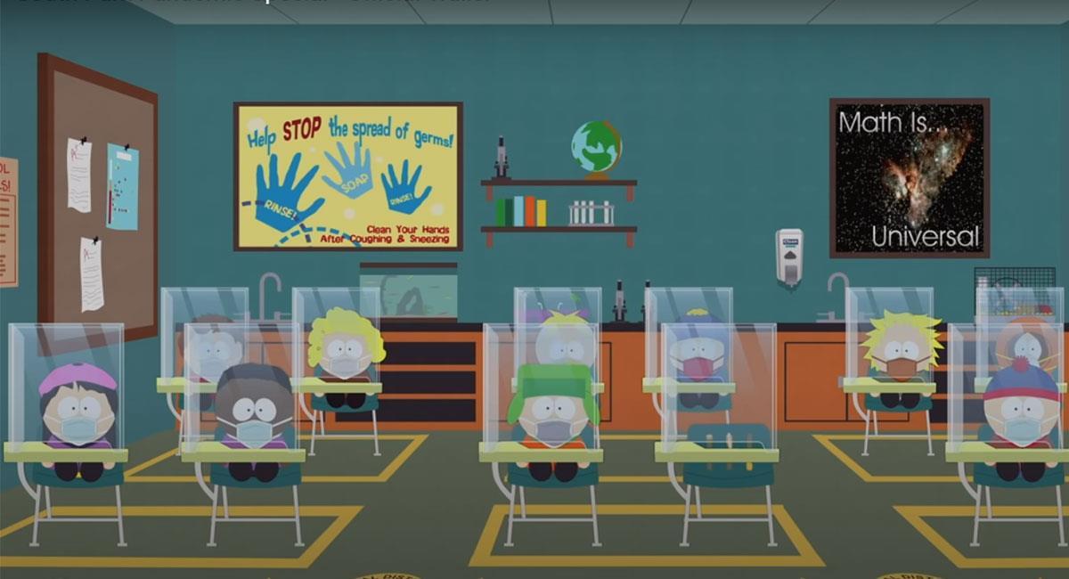 South Park retornará con un capítulo especial sobre el coronavirus. Foto: Youtube Captura de pantalla canal South Park Studios