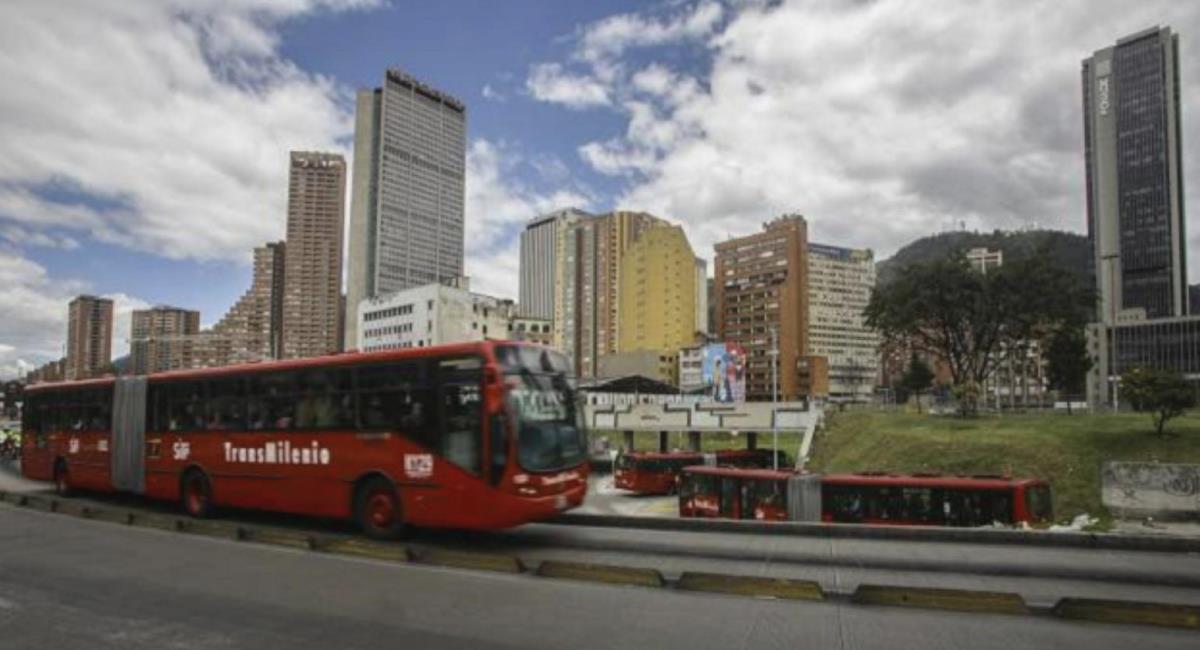 Greenpeace pide declarar emergencia climática en Bogotá. Foto: Twitter @Bogota