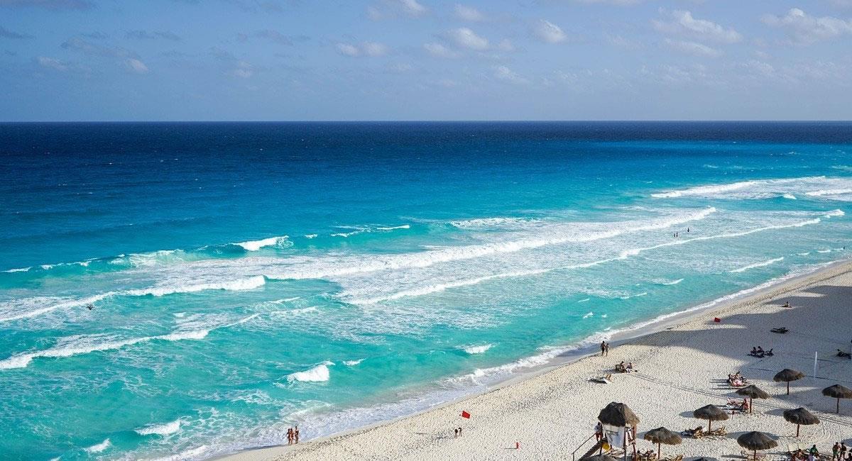 Cancún, era el destino internacional más anhelado por los colombianos. Foto: Pixabay