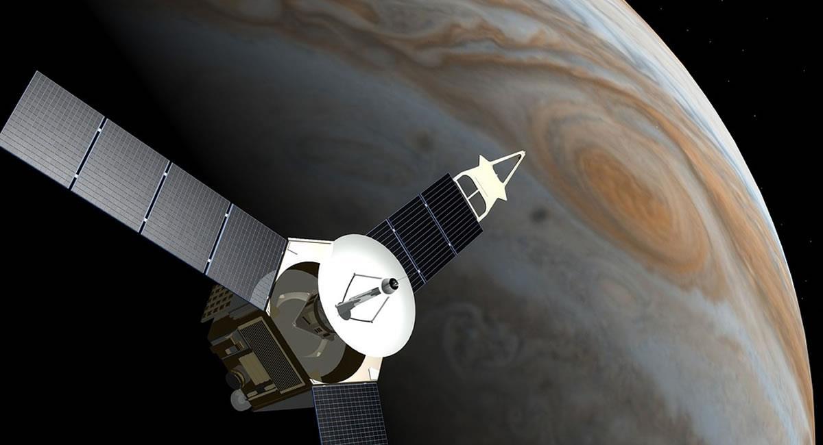 Júpiter se está preparando para la conjunción con la Luna para este viernes. Foto: Pixabay