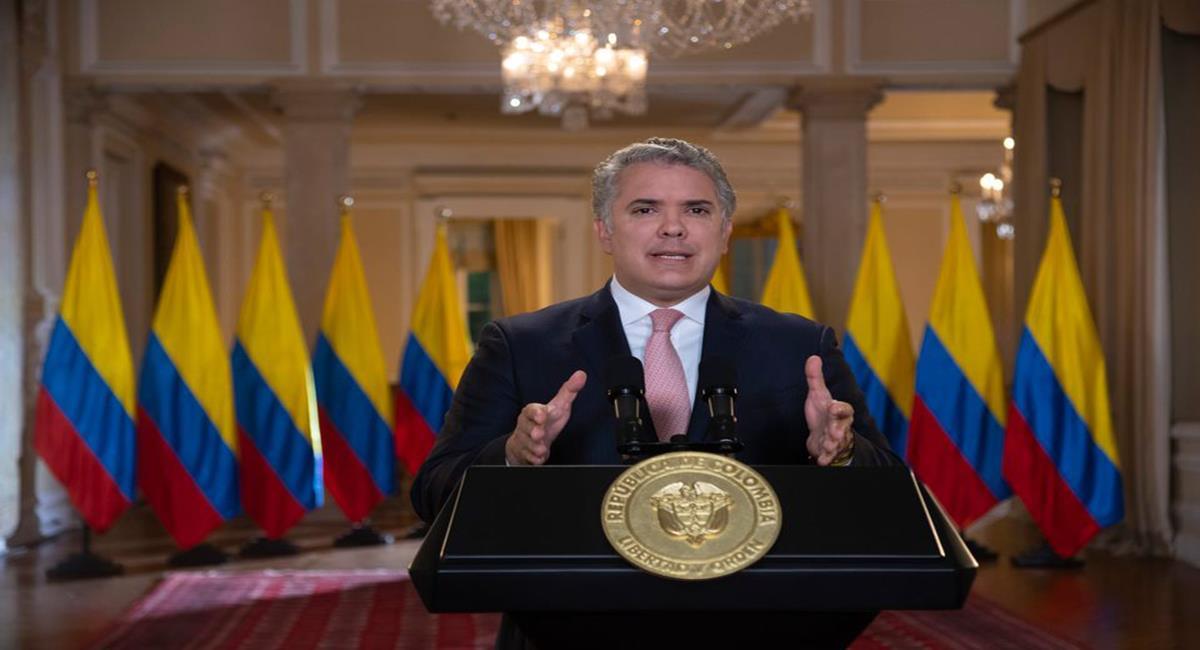 El presidente de Colombia, Iván Duque no aparece como uno de los mandatarios con mejor aceptación. Foto: Facebook Iván Duque