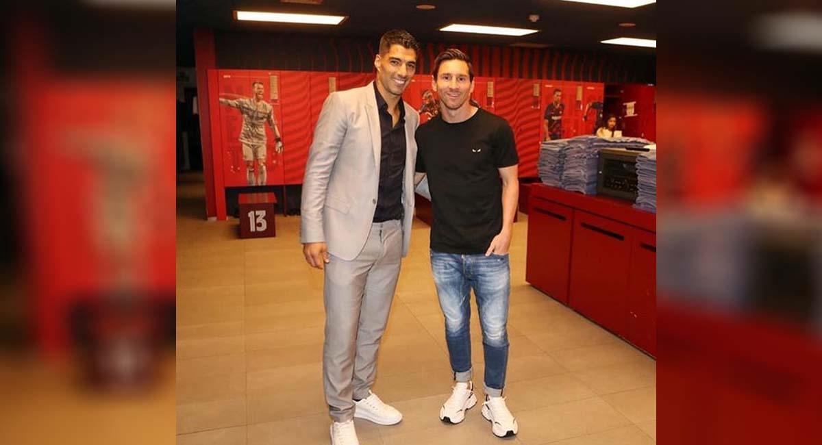 Lionel Messi era uno de los mejores amigos de Luis Suárez en Barcelona. Foto: Instagram / @leomessi