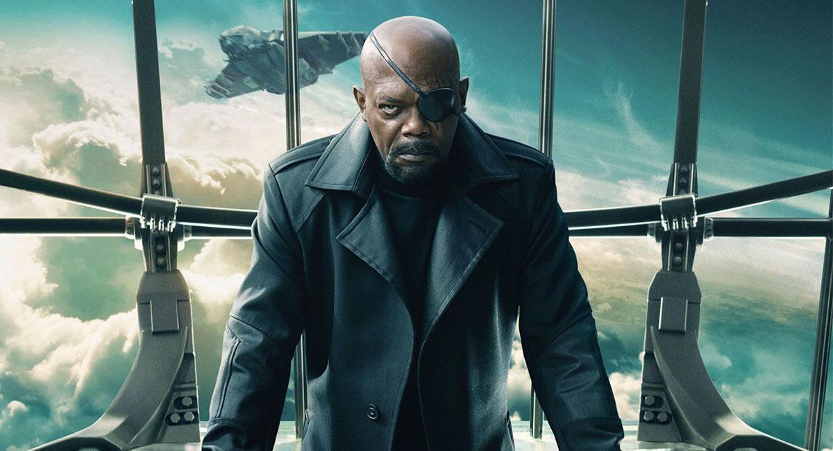 Samuel L Jackson es el encargado de interpretar a Nick Fury en Marvel Studios. Foto: Twitter @MarvelStudios
