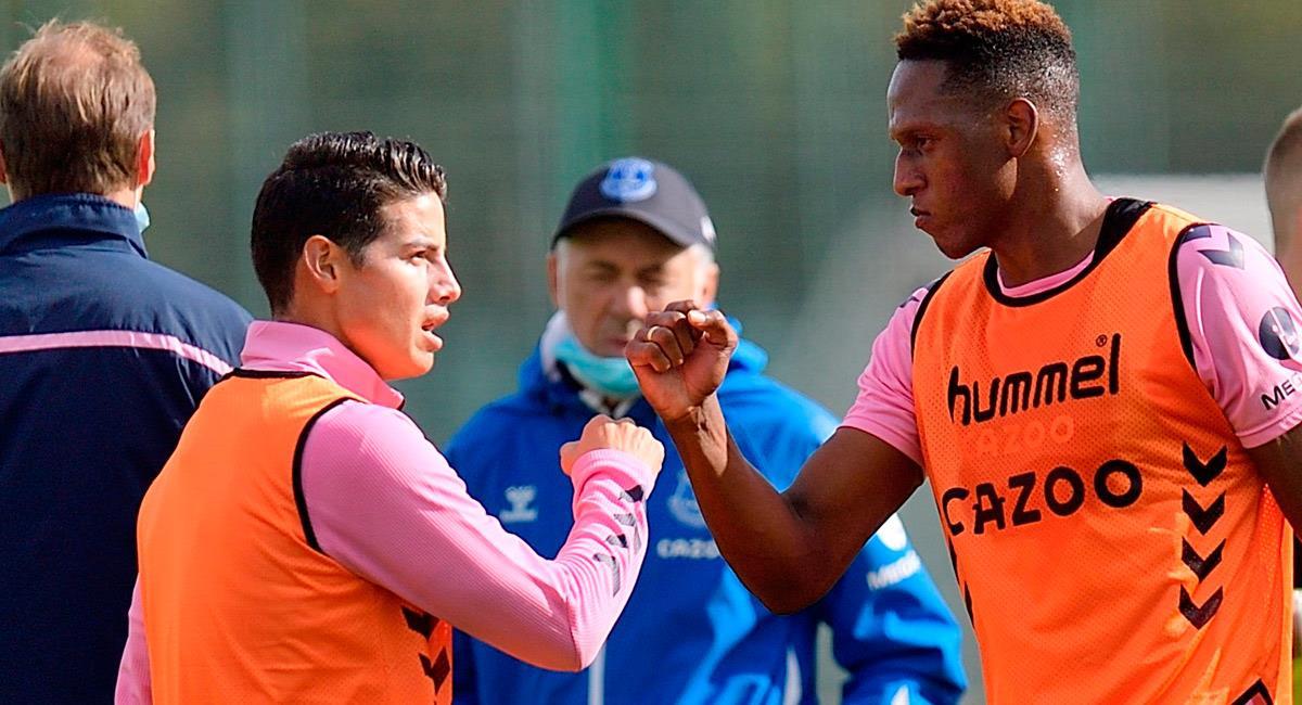 James Rodríguez es pieza fundamental en la Selección Colombia. Foto: Twitter @Everton
