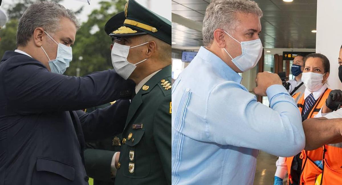 Un supuesto plan para atentar contra el presidente Duque  tiene a las autoridades en alerta. Foto: Facebook Presidencia de la República de Colombia