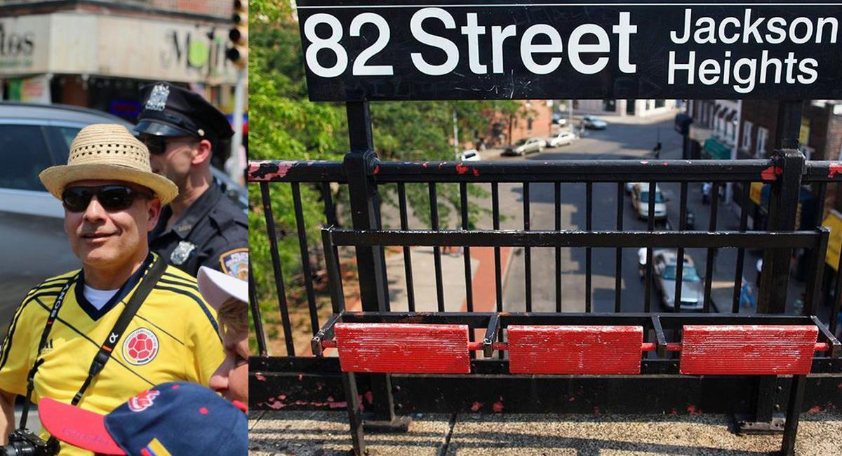 En Jackson Heights, distrito de Queens en New York, los colombianos son una colonia muy numerosa. Foto: Facebook Jackson Heights New york