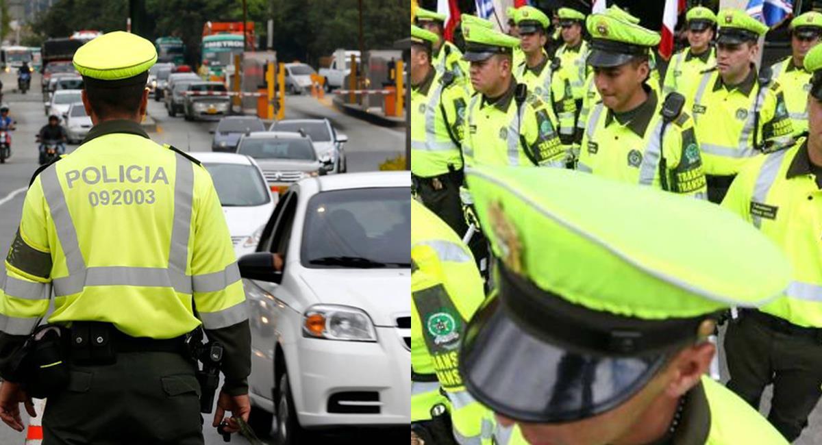 En un proceso de tres años se realizará el desmonte gradual de la Policía de Tránsito de Bogotá. Foto: Q hubo