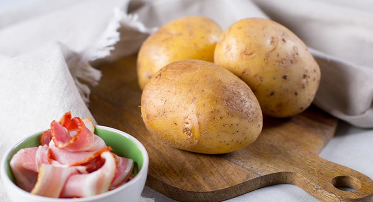 Las papas se podrán servir como un principio, para tu carne favorita. Foto: Shutterstock