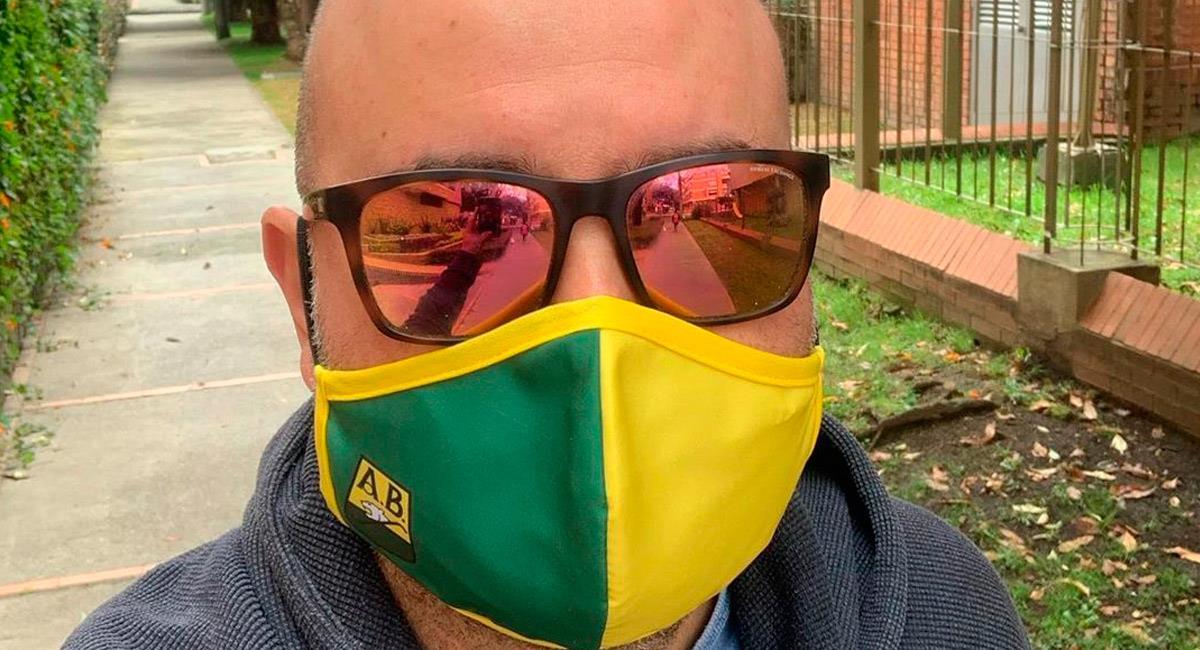 Andrés Marocco, comentarista de ESPN en Colombia. Foto: Instagram @amarocco