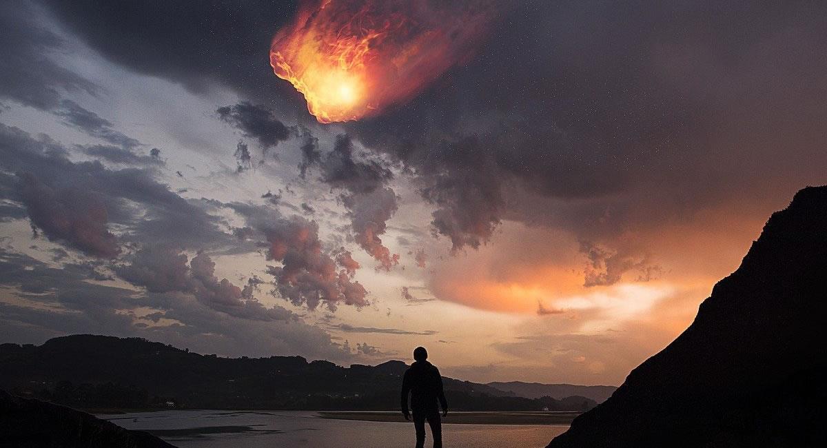 El meteroide fue 'expulsado' por el escudo protector gaseoso de la Tierra. Foto: Pixabay