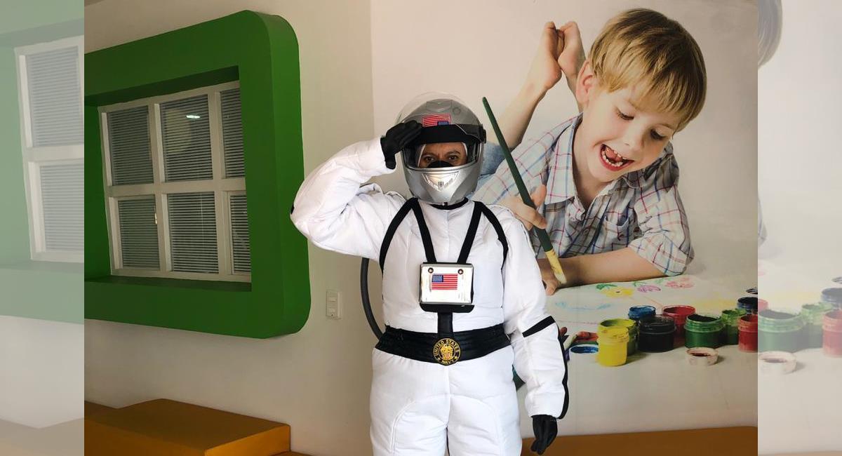 Se instalan escudos y protectores individuales. Foto: Cortesía Crayola y Lápiz Jardín Infantil Bilingüe