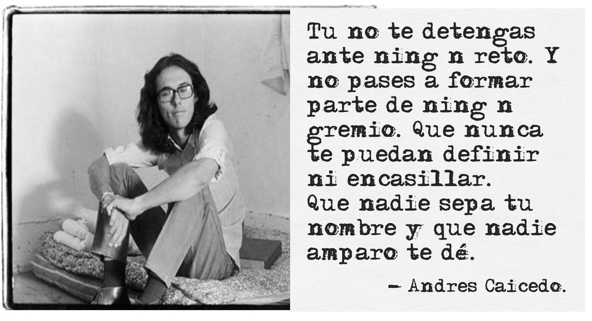 Andrés Caicedo: un escritor que expresó su amor por Cali con odio