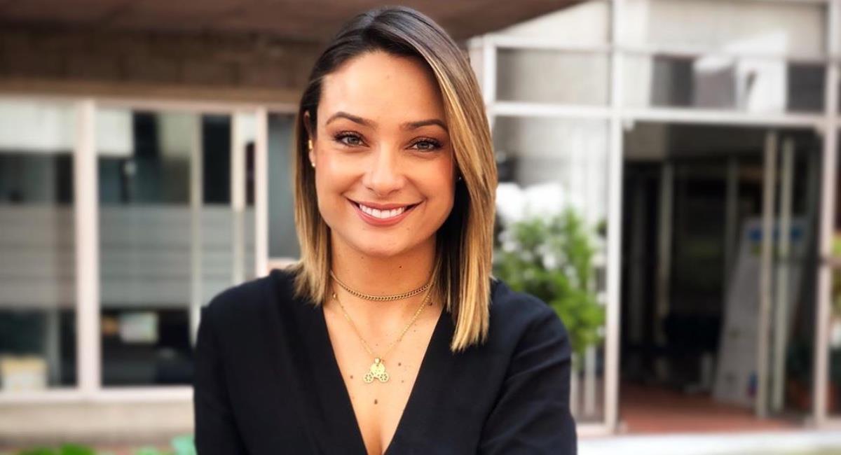 La presentadora está más feliz que nunca. Foto: Instagram @monicajaramillog.