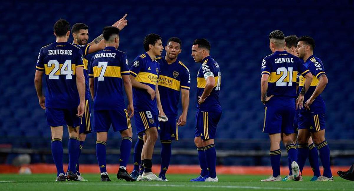 Boca Juniors está en octavos de final de Copa Libertadores. Foto: EFE