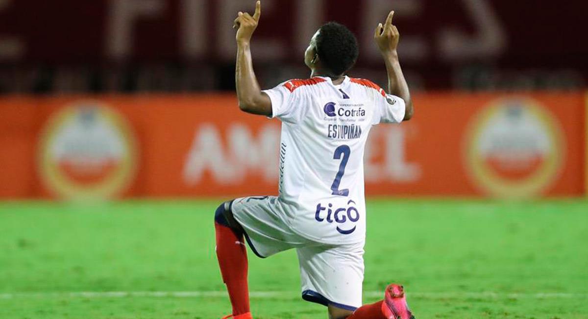 Independiente Medellín logró derrotar a Caracas y conseguir sus primeros tres puntos. Foto: EFE
