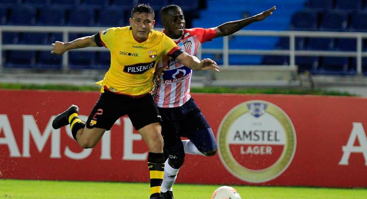 Junior perdió ante Barcelona en el Metropolitano por Copa Libertadores. Foto: EFE