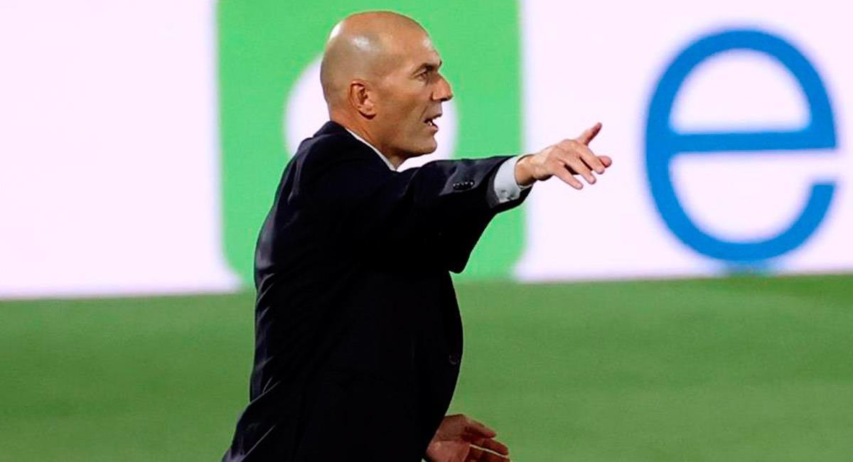 Zinedine Zidane, DT de Real Madrid. Foto: EFE