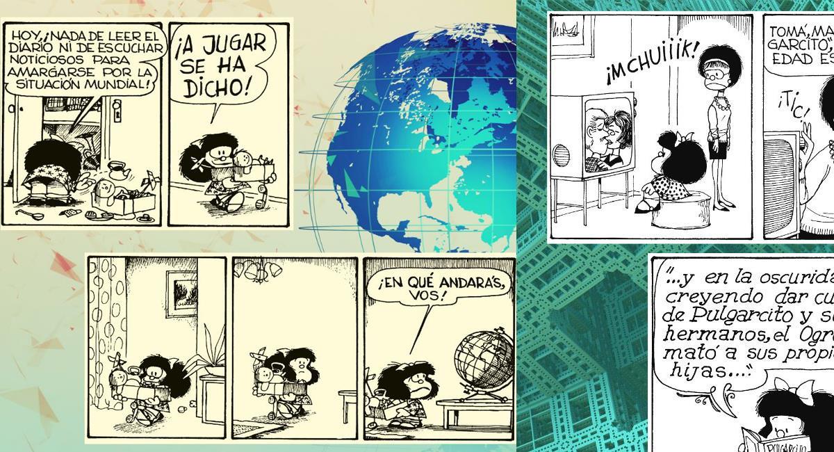Mafalda conoció la luz en el año de 1964 gracias a su creador, Quino. Foto: Facebook Mafalda Oficial