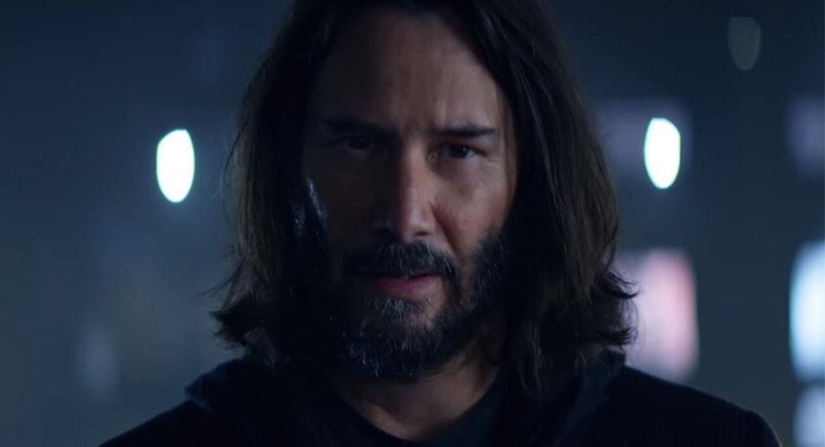 Keanu Reeves podría hacer parte del Universo Cinematográfico de Marvel. Foto: Twitter @CyberpunkGame