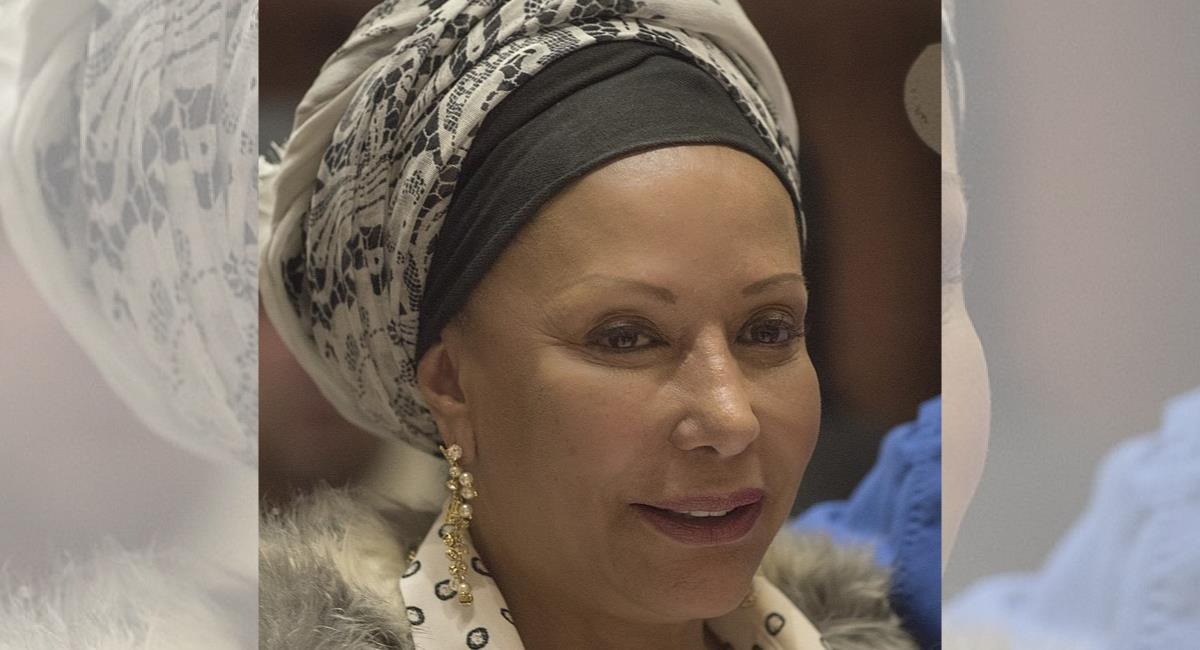 La senadora habló del ataque del que fueron víctimas sus escoltas. Foto: Twitter @MusaParadisaca3