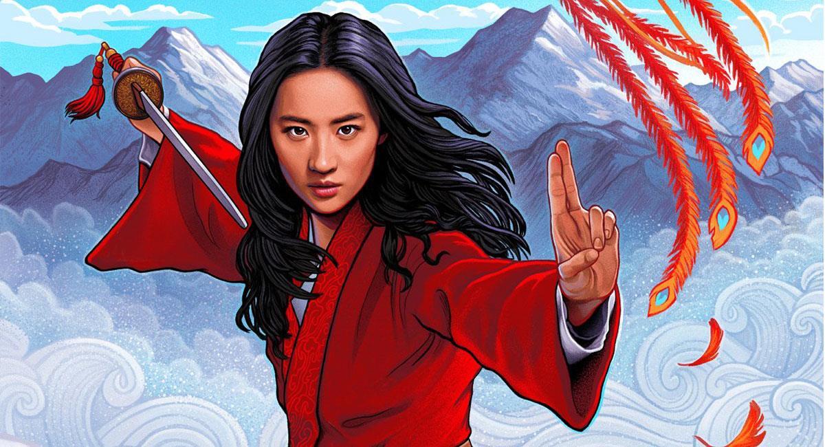 """""""Mulan"""" fue estrenada a través de Disney+ en septiembre. Foto: Twitter @DisneysMulan"""