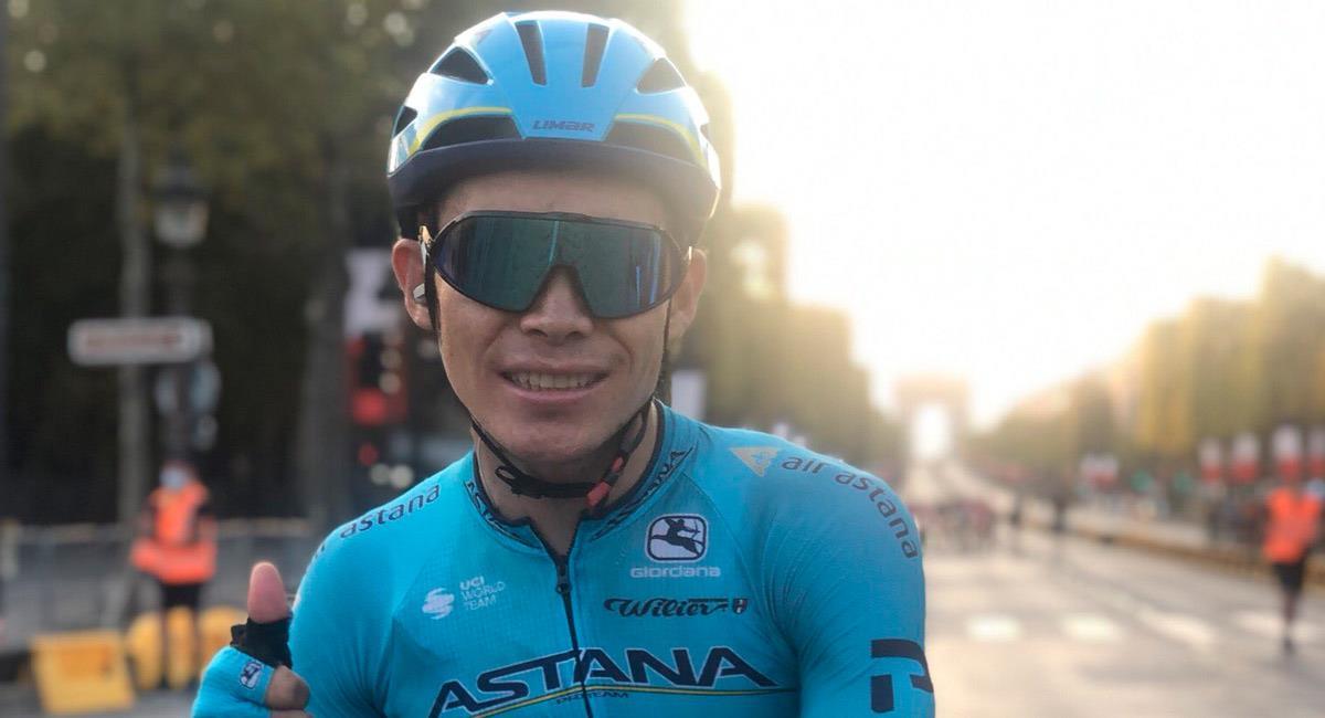 Superman López tuvo que abandonar el Giro de Italia. Foto: EFE