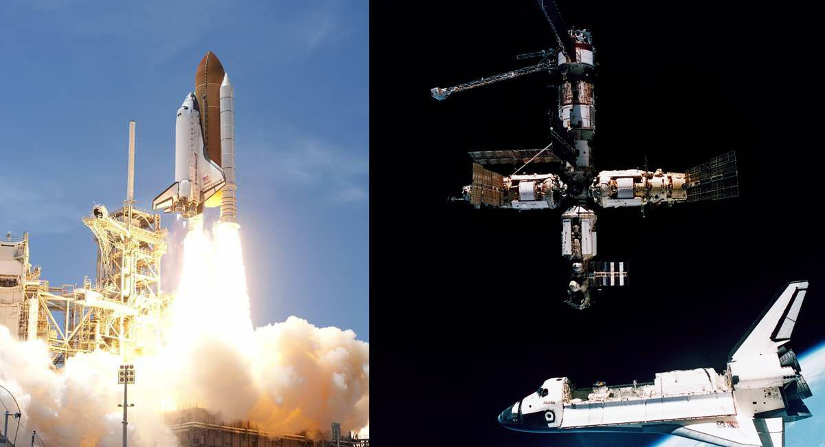 El transbordador espacial Atlantis estuvo en funcionamiento 25 años y fue el último del programa de la NASA. Foto: Facebook NASA, Johnson Space Center