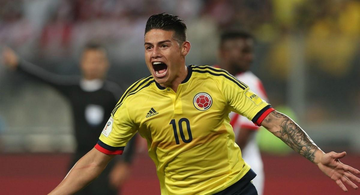 James le envía mensaje a los hinchas de la Selección Colombia. Foto: Instagram Prensa redes James Rodríguez.