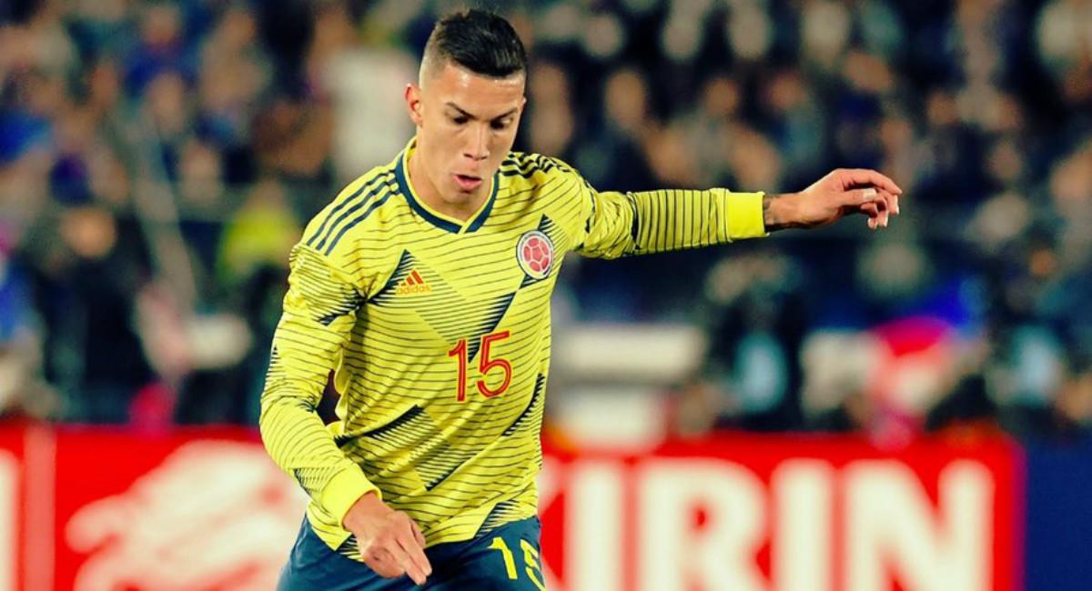 Matheus Uribe, una nueva baja para la Selección Colombia. Foto: Twitter Prensa redes Matheus Uribe.