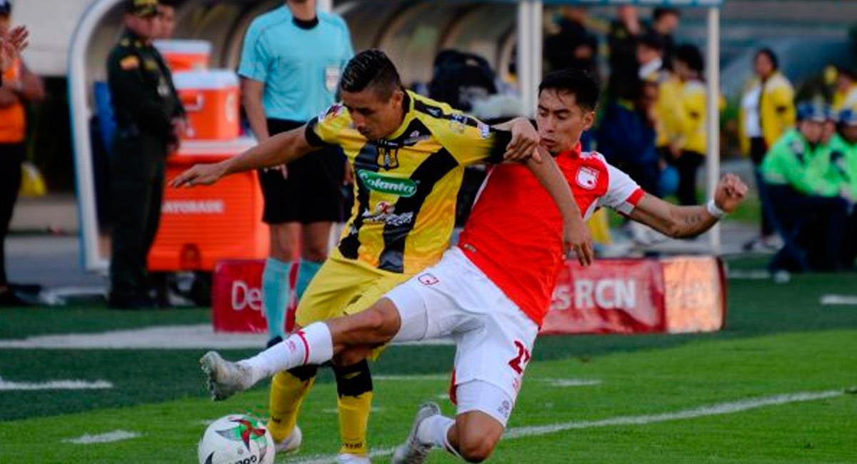 Santa Fe es colíder del fútbol colombiano. Foto: Twitter @SantaFe