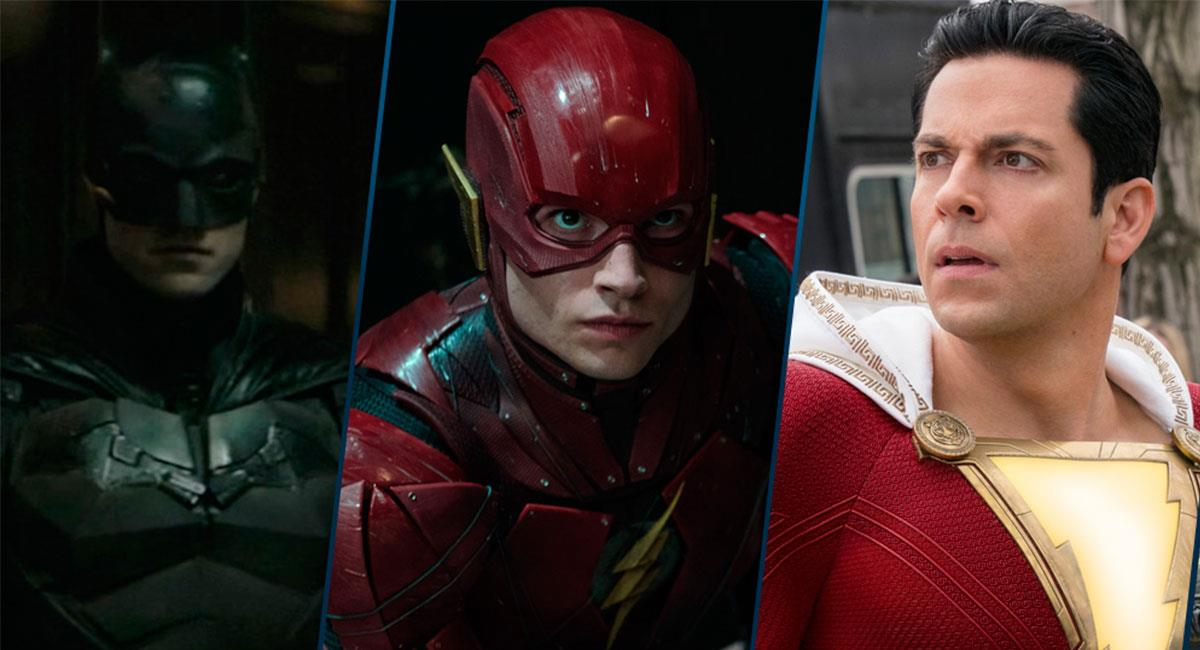 """The Batman"", ""The Flash"" y ""Shazam!: Fury of Gods"" fueron postergadas por el COVID-19. Foto: Twitter @blogsuperheroes"